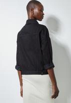 Superbalist - Tia denim jacket - black