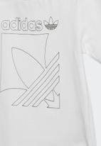adidas Originals - Badge set - black & white