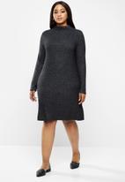 Carmakoma - India long sleeve dress - dark grey