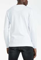 S.P.C.C. - Rodri signature crew neck sweat - white