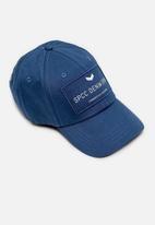 S.P.C.C. - Kean fashion baseball cap - blue