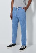 Superbalist - Deco denim pants - blue