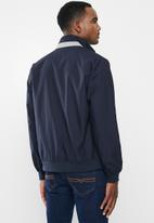 POLO - Aria cotton harrington jacket - navy