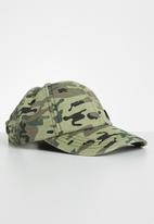 JEEP - Kids camo print cap - green