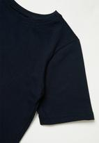 POP CANDY - Girls printed short sleeve tee - navy