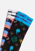 Happy Socks - Montana tube box - multi