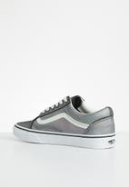 Vans - Ua Old Skool - (prism suede) black & true white