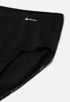 Jockey - No panty line full brief-3pk-pln & plc - multi