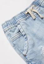 Cotton On - Street slouch short - light blue