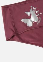 Jockey - Npl knicker 3pk - 2pln/1 iht - midnight navy & pink berry