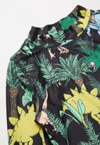 Cotton On - Flynn long sleeve rash vest - multi