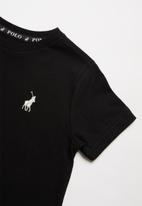 POLO - Boys rick short sleeve tee - black