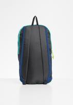 SOVIET - Nylon backpack - navy & turquoise