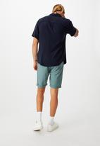 Cotton On - Washed chino short - pigment teal