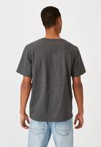 Cotton On - Essential vee neck  - charcoal marle