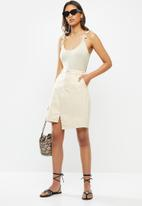 Vero Moda - Theia skirt - beige