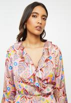 Glamorous - Ruffle blouse - multi