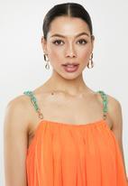 Missguided - Chain strap swing dress - orange