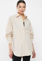 Missguided - Button shirt - neutral