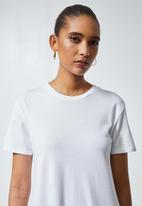 Superbalist - Trapeze pocket detail dress - white