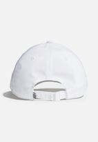 adidas Performance - Baseball cap lt met - white