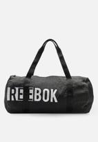 Reebok - W found cylinder bag - black