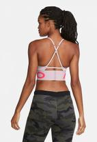 Nike - Nike indy pro long line bra - pink