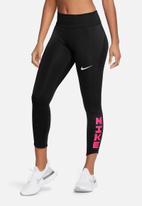 Nike - Nike iconclash fast 7/8 tight - black