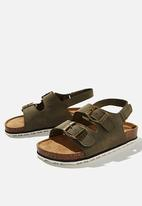 Cotton On - Theo sandal - green
