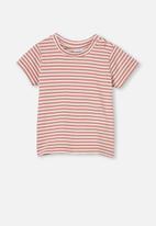 Cotton On - Jamie short sleeve tee - red
