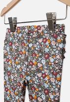 Cotton On - Quinn ruffle legging - multi