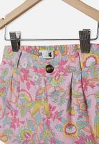 Cotton On - Cassidy short - pink & green
