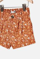 Cotton On - Cassidy short - rust