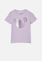 Cotton On - License short sleeve tee - purple