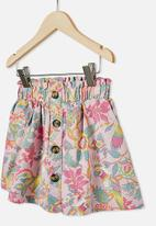 Cotton On - Holly skirt - pink & green