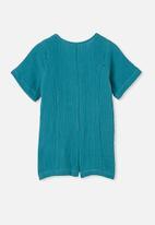 Cotton On - Monica playsuit - blue