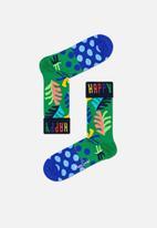 Happy Socks - Big leaf sock - multi