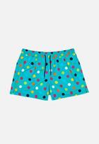 Happy Socks - Big dot swim shorts - multi