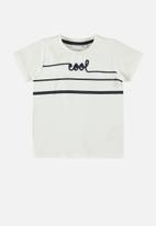name it - Fabian short sleeve top - white
