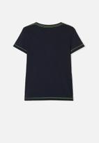 name it - Zalte short sleeve top - navy