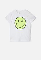 name it - Happy telo short sleeve top - white