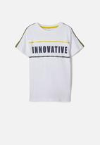 name it - Dax short sleeve top - white