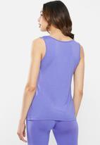 Jockey - Paradise party - sleep vest 1pk -  blue