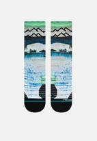 Stance Socks - Great plains crew sock - multi