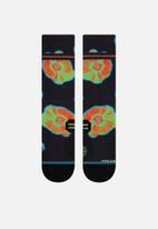 Stance Socks - High heat thermo run sock - black