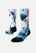 Stance Socks - Higher places crew sock - multi