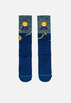 Stance Socks - Cavolo creatures hike - blue