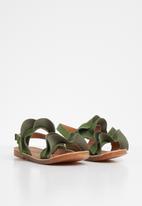 POP CANDY - Girls frill sandal - green
