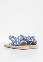POP CANDY - Girls espadrille sandal - blue