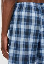 Jockey - Jockey local woven sleepshorts - shades of blue